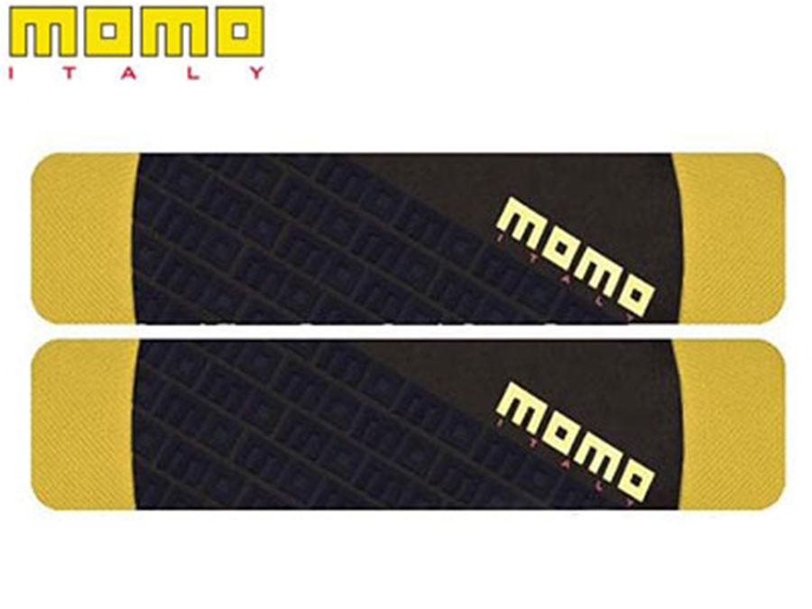 Momo Black & Yellow Shoulder Pads (pair)