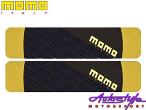 Momo Black & Yellow Shoulder Pads (pair)-0
