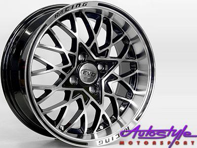 15″ Evo Osaka 4/100 Alloy Wheels