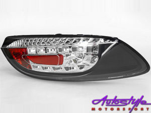 VW Scirocco LED Red & Smoke Taillights-0