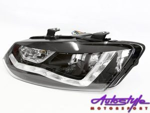 VW Polo 2010 Smoke DRL Headlight-0