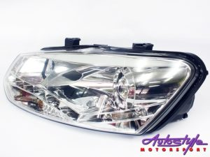 VW Polo 2010 Chrome DRL Headlight-27961