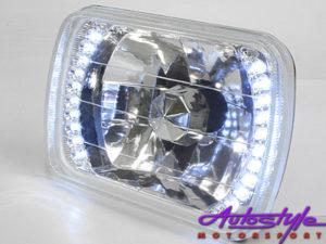 Nissan 1400 Chrome Led Headlight -0