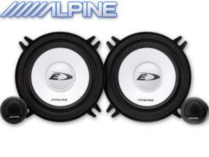 "Alpine SXE-1350S 5"" 250w Split Speaker System-0"