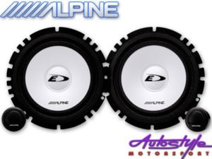 "Alpine SXE-1750S 6"" 280w Split Speaker System-0"