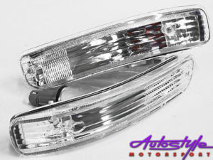 Toyota E8E9 Baby Camry Shape 2 Slot Crystal Front indicator-0