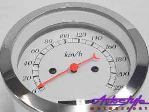 Autogauge Electrical 85mm Speedometer-10015