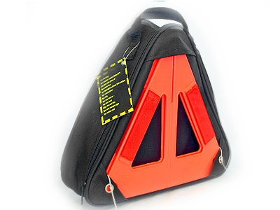 Emergency Vehicle Tool Kit and Reflective Triangle