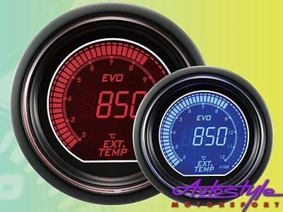 Autogauge EVO  EGT Gauge 52mm