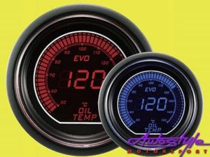 Autogauge EVO Oil Temp Gauge 52mm-0