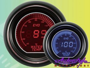 Autogauge EVO Water Temp Gauge 52mm-0