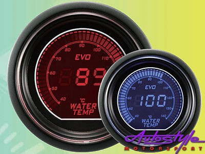 Autogauge EVO Water Temp Gauge 52mm