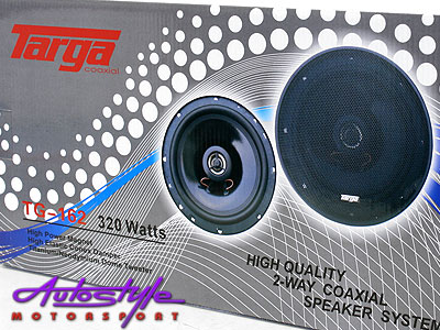 Targa 6″ 2way 320watt Mid Range Speaker