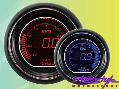 Autogauge EVO Boost Gauge 52mm