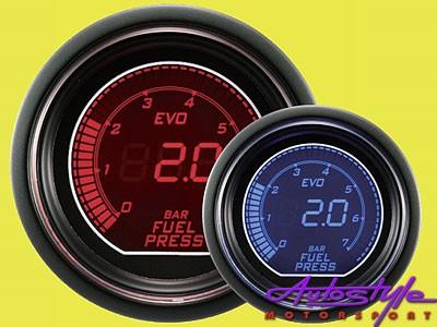 Autogauge EVO Fuel Pressure Gauge 52mm