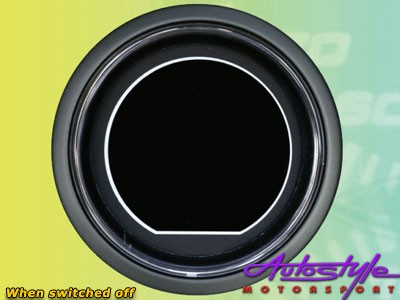 Autogauge EVO Water Temp Gauge 52mm-10173