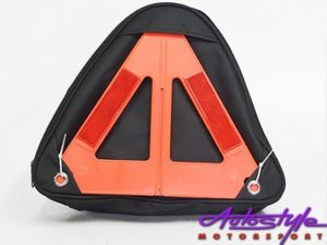 Emergency Vehicle Tool Kit and Reflective Triangle-10267