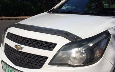 Chevrolet Utility Carbon look bonnet shield