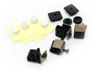 Replacement Clips for Carbon Look Bonnet Shields-0