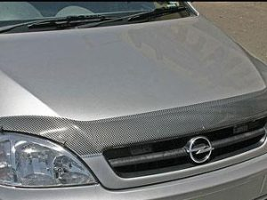 Carbon Look Bonnet Guards