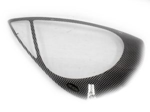 Carbon Look Headlight Guard To Fit Ford Ka-0