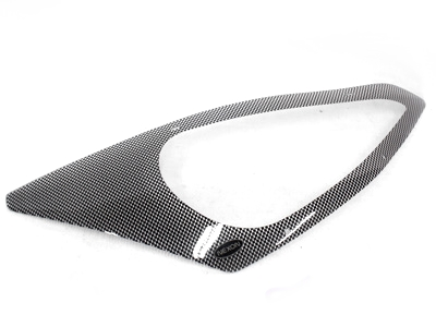 Carbon Look Headlight Guard To Fit Ford Focus upto 05″