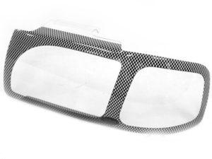 Mazda Drifter 03-05 Carbon Fibre Look Headlight Shields-0