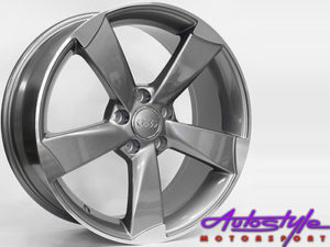 "17"" RS3 Style Replica 5/100 Alloy Wheels-0"
