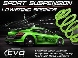 Evo Lowering Kit VW Golf 4 / Audi A3 / Beetle 40mm Drop-0