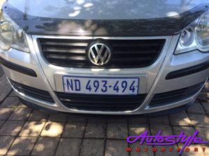 VW Polo 05+ Carbon Look Bonnet Guard-22527