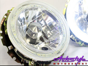 VW Mk1 Expensive Grade LED Angeleye Headlight -0