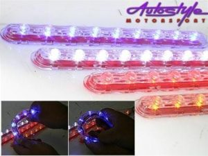 Universal LED Yellow Strip Bat Eyes 2.5cm x 31cm-0