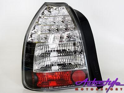 Honda Vtec 3Dr Smoke & Clear Led Taillight