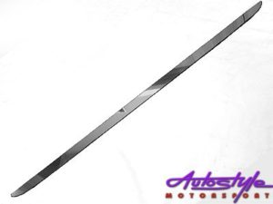 Golf 6 R/Line Metal Bootlip -0