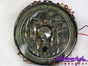 VW Mk1 Smoke LED Angeleye Headlight-0