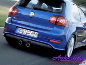 VW Golf 5 R32 Rear Apron With Heatshield-0