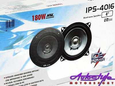 Ice Power 4″ 180w Dual Cone Speaker