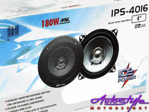 "Ice Power 4"" 180w Dual Cone Speaker-0"
