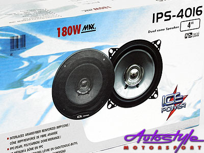 Ice Power 4″ 180w Dual Cone Speaker