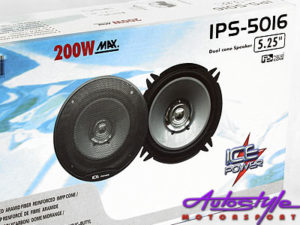 "Ice Power 5"" 200w Dual Cone Speaker-0"