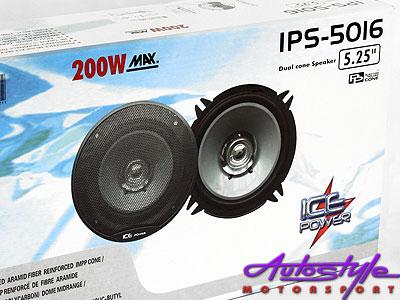 Ice Power 5″ 200w Dual Cone Speaker