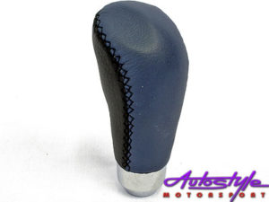 Universal Gear Knob Black & Blue -0