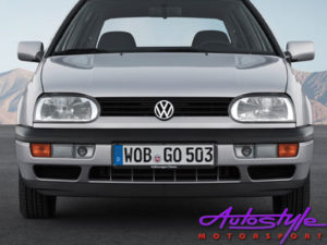 VW Mk3 Original Spec Thin Lip Front Spoiler -0