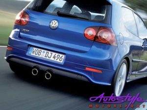 VW Golf 5 R32 Rear Apron With Heatshield-0