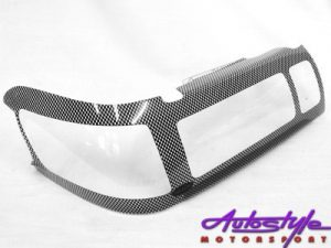 Carbon Look Headlight shields to fit Cressida 86-89-0