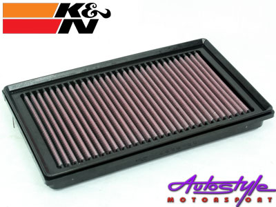 K&N Performance Flat Pad Air Filters Available to fit: Renault Clio III-0