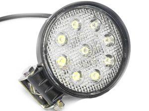 Universal 11cm Round 9 Led Spot Lamp-0