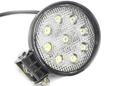 Universal 11cm Round 9 Led Spot Lamp