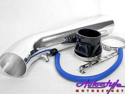 Universal L-Type Intake Pipe Silver-0