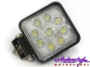 Universal 11x11cm Square 9 Led Spot Lamp-0
